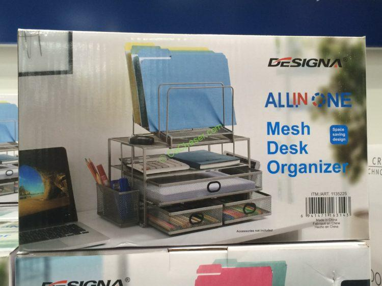 Costco 1135225 Sunrising International 3drawer Desktop Organize Box