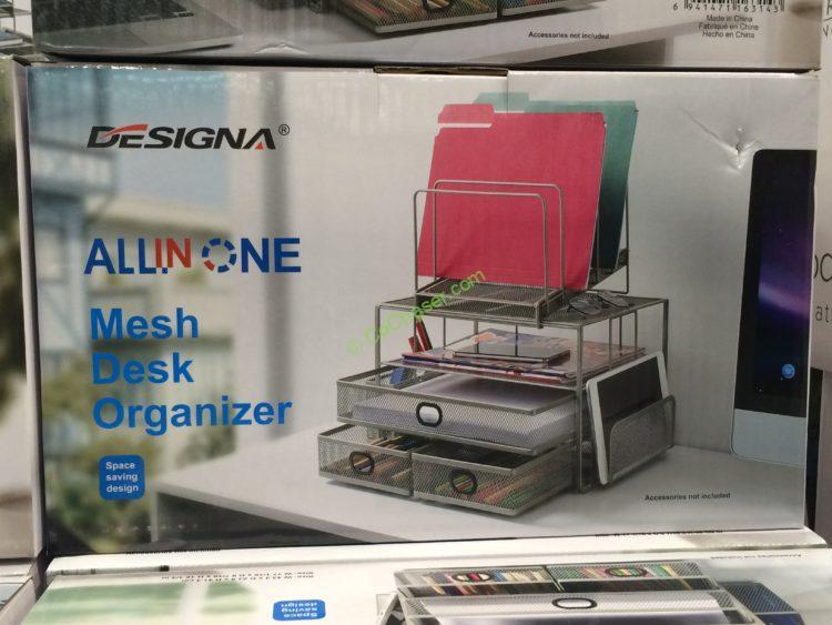 Costco 1135225 Sunrising International 3drawer Desktop Organize Box1