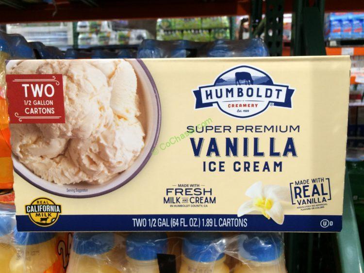 Humboldt Creamery Vanilla Ice Cream 2-1/2 Gallon Cartons