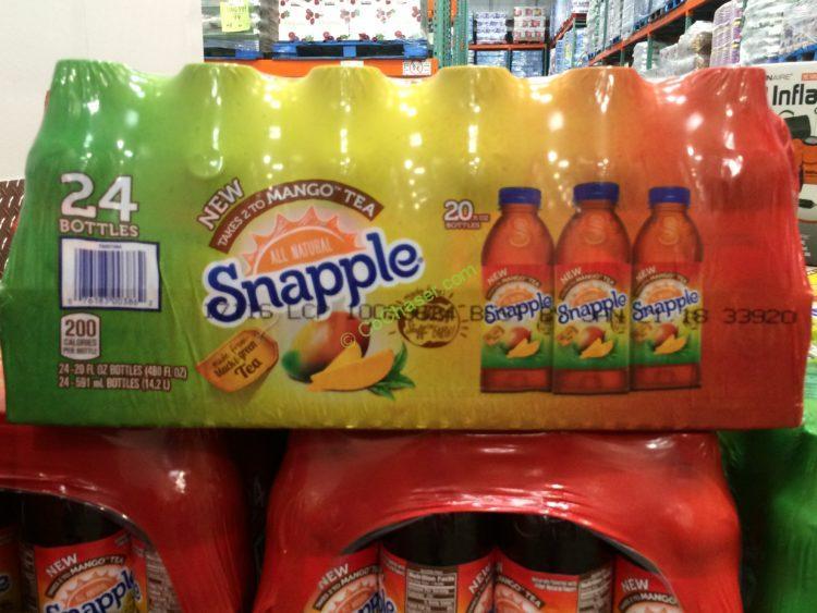 Snapple Mango Tea 24/20 Ounce Bottles