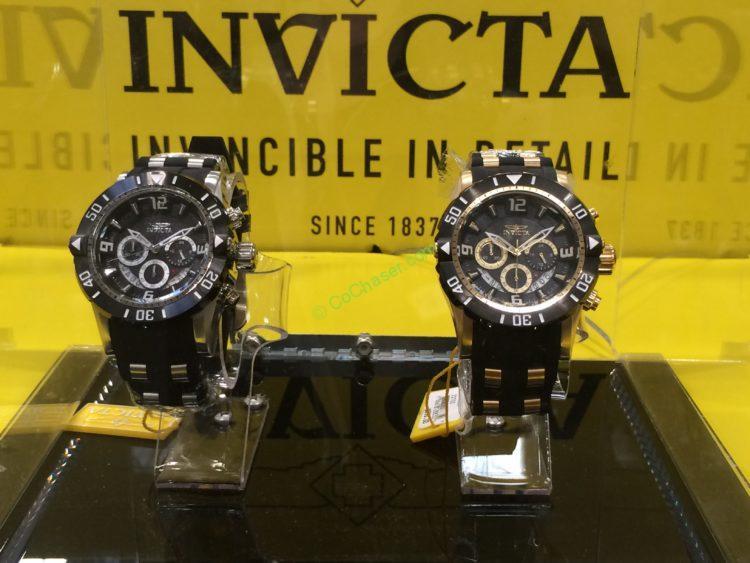Invicta Pro Diver Scuba Watch, Silver or Gold Tone