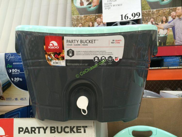 Igloo Party Bucket 20 Qt Costcochaser