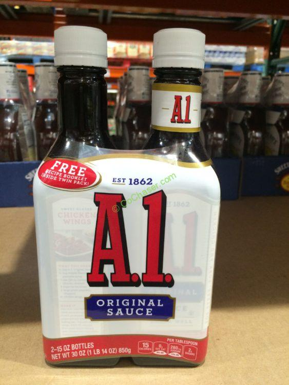 A I Steak Sauce 2 15 Ounce Bottles Costcochaser