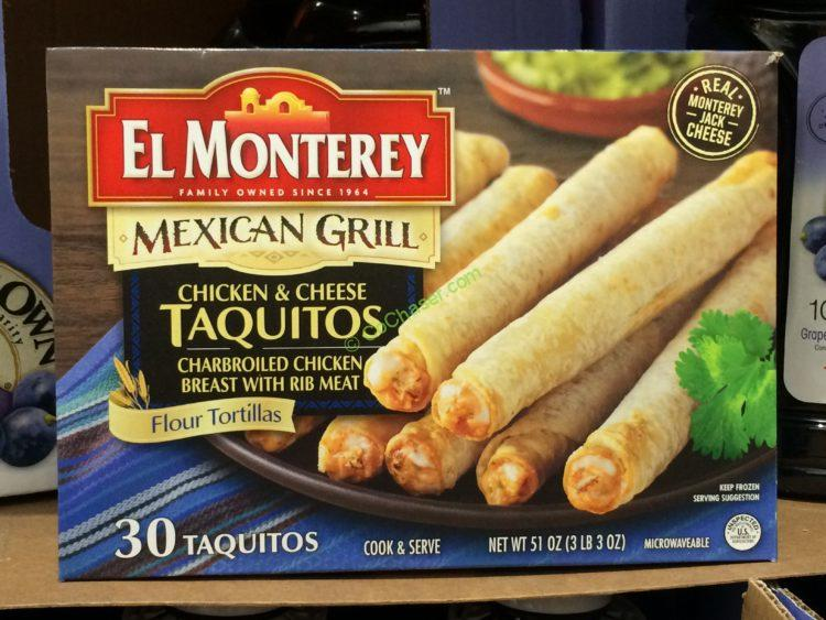EL Monterey Chicken Taquitos 30 Count Box