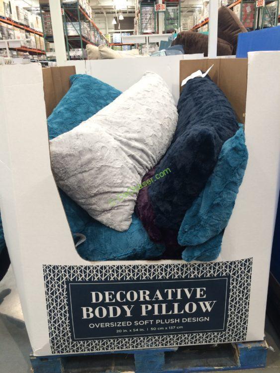 Arlee Home Fashions Sasha Body Pillow Costcochaser