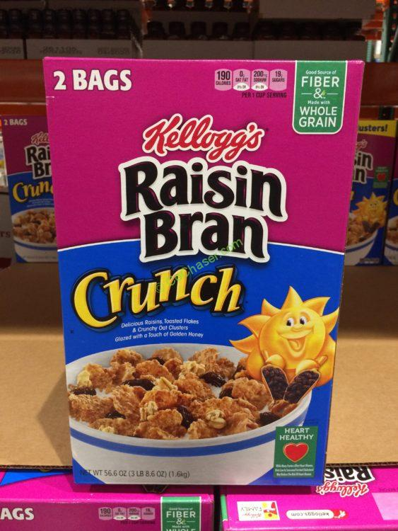 Kellogg's Raisin Bran Crunch 56.6 Ounce Box