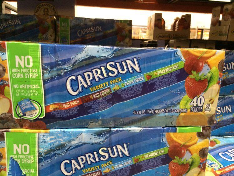 Capri Sun Variety Pack 40/6 Ounce Pouches