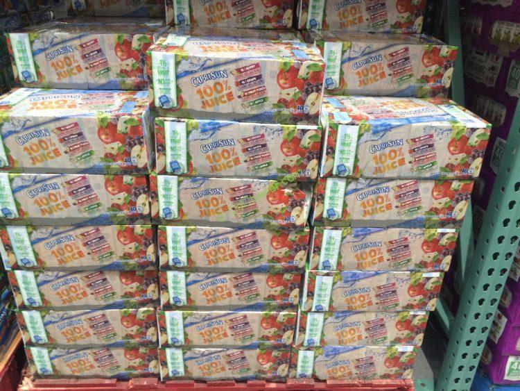 Costco 438851 Capri Sun 100 Juice Variety All Costcochaser