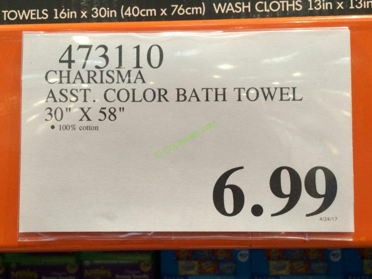 Costco-473110-Charisma-Asst-Color-Bath-Towel-tag