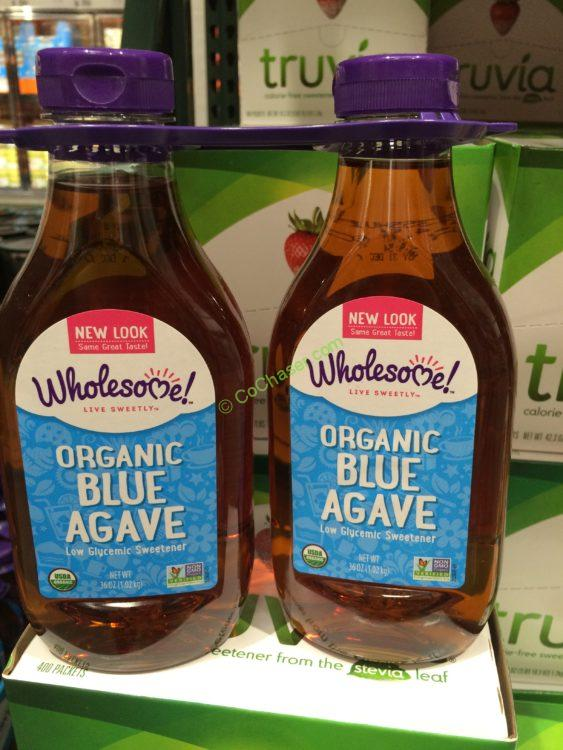Wholesome Sweeteners Organic Agave Nectar 2/26 Ounce Bottles