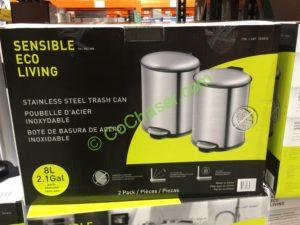 Costco 709890 Sensible Eco Lliving 8l Stainless Steel Step