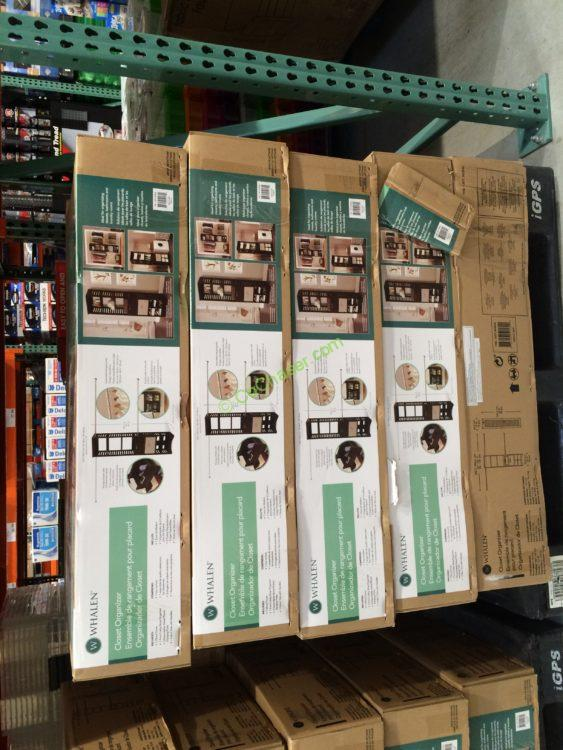 Costco 962840 Whalen Closet Organizer Wood Construction All