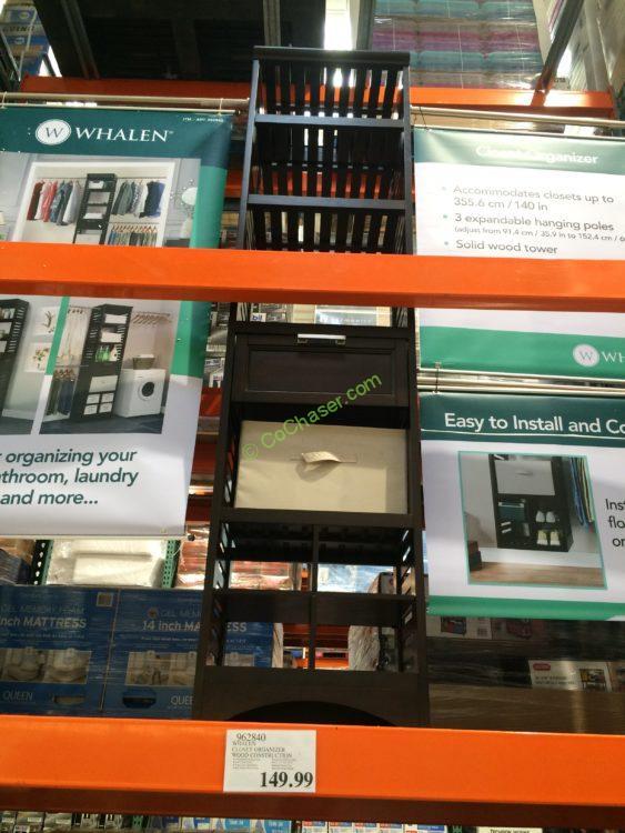Whalen Closet Organizer Wood Construction Costcochaser
