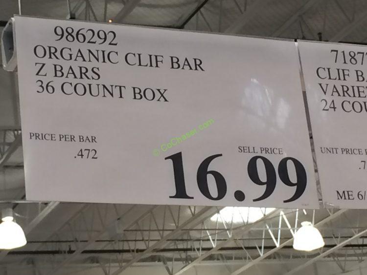 Clif organic z bars - Free madden 25 cards