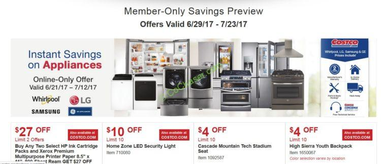 Costco Coupon Book: June 29– July 23, 2017