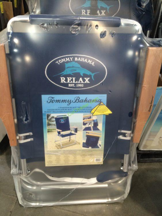 Costco 1018188 Tommy Bahama Hi Boy Beach Chair Costcochaser