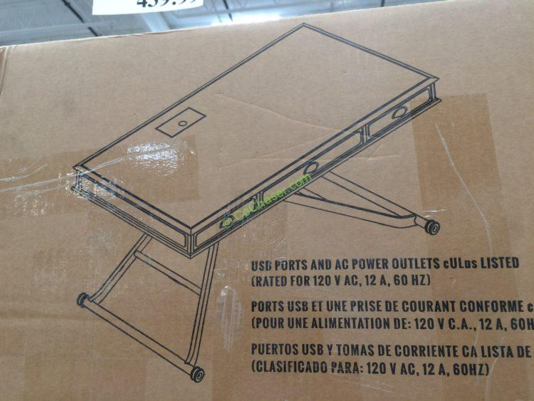 Costco Turnkey Sit N Stand Desk Adjustable Height