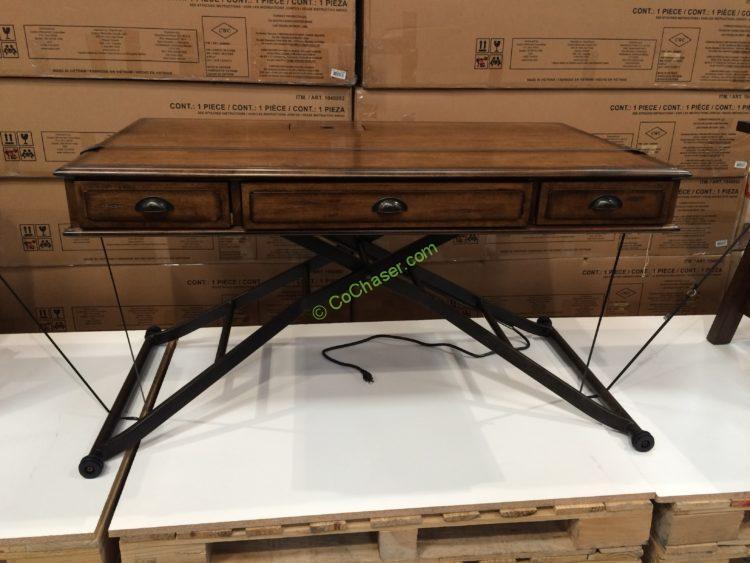 Superb Turnkey Sit N Stand Desk Adjustable Height Costcochaser Interior Design Ideas Clesiryabchikinfo