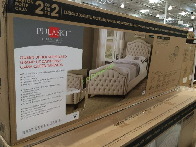 Pulaski Furniture Upholstered Queen Bed Costcochaser