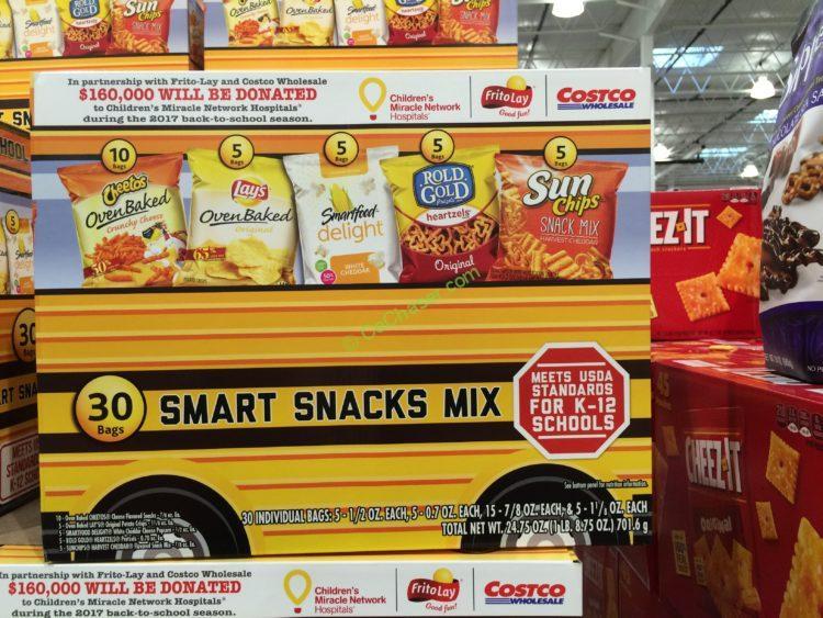 Frito Lay Smart Snacks Mix 30 Count Box