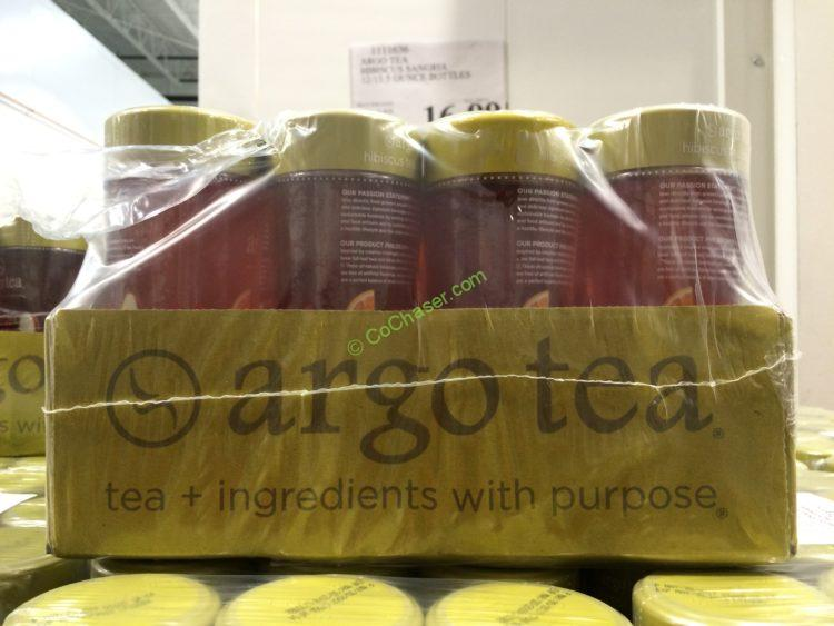 Argo Tea Hibiscus Sangria 12/13.5 Ounce Bottle