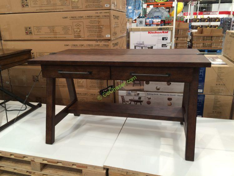 Klaussner 52 Writing Desk With Power Costcochaser