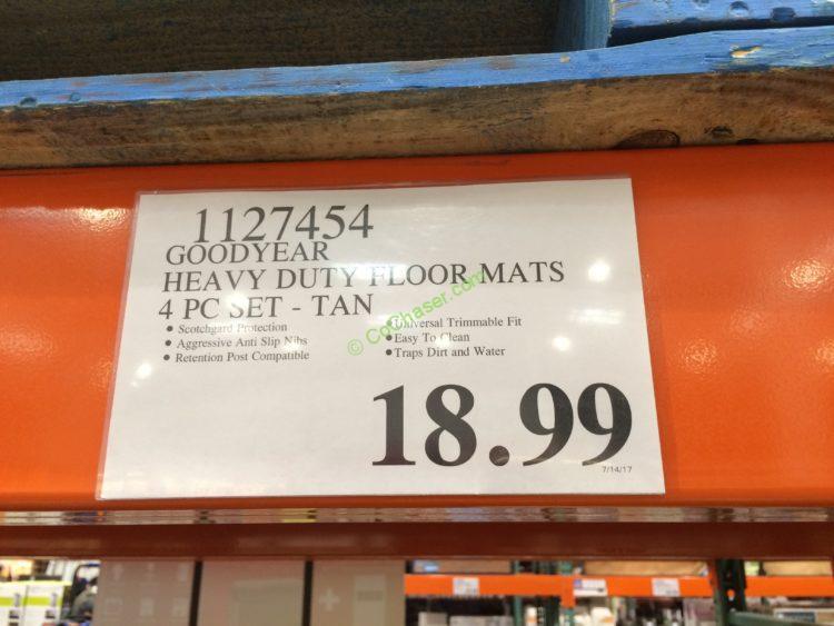 Costco-1127454-Goodyear-Heavy-Duty-Floor-Mat-4PC-Set-tag