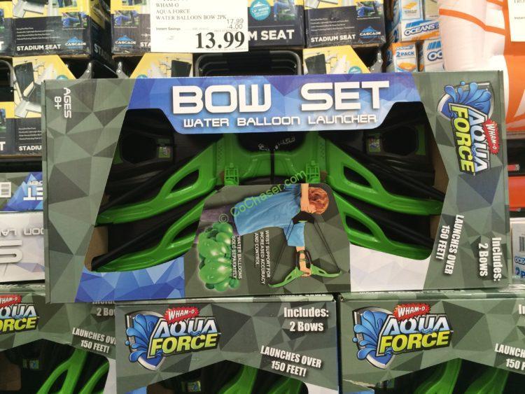 Wham-O Aqua Force Water Balloon Bow 2PK