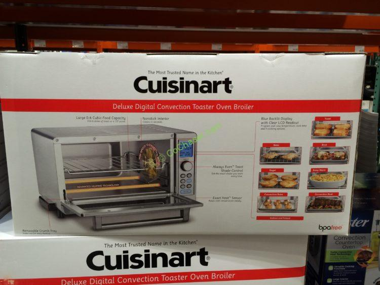 oven convection deluxe broiler cuisinart reviews toaster