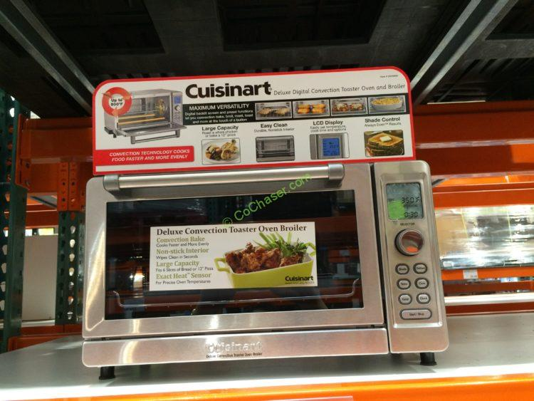Cuisinart Deluxe Convection Toaster Oven Broiler Model# TOB-135N