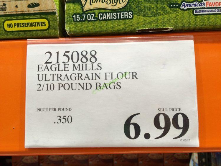 Costco-215088-Eagle-Mills-Ultragrain-Flour-tag