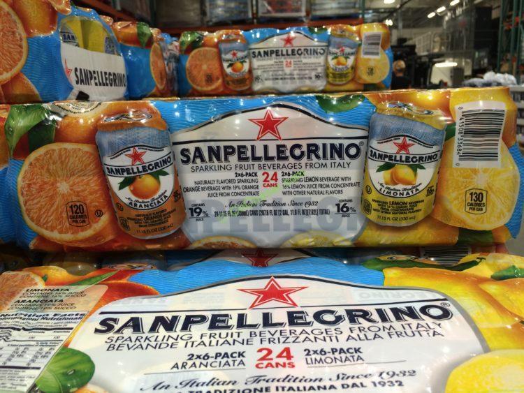 San Pellegrino Sparkling Fruit  24/11.5 Ounce Cans