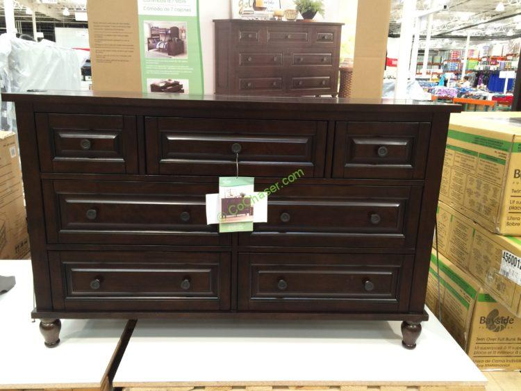 costco chest of drawers bayside furnishings dresser costcochaser 15021