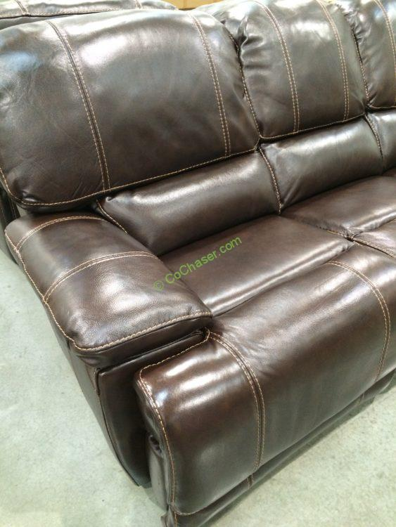 Costco Leather Sofa Spectra Mckinley Power