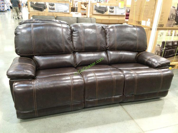 Costco-4560014- Leather-Power-Reclining-Sofa & Leather Power Reclining Sofa u2013 CostcoChaser islam-shia.org