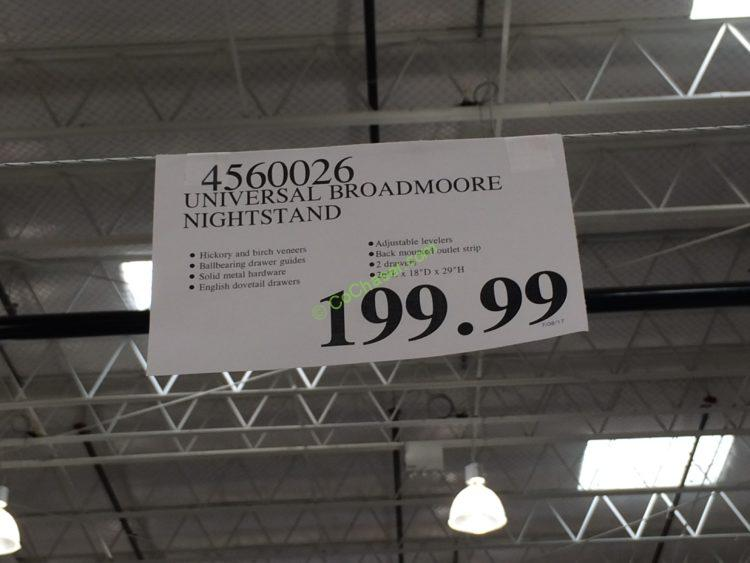 Costco-4560026-Universal-Broadmoore-Nightstand-tag