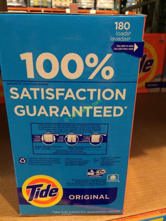 Tide Powder He Laundry Detergent 180 Loads 254 Ounces