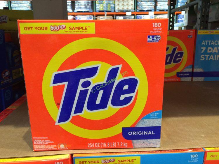 Tide Powder HE Laundry Detergent 180 Loads/254 Ounces