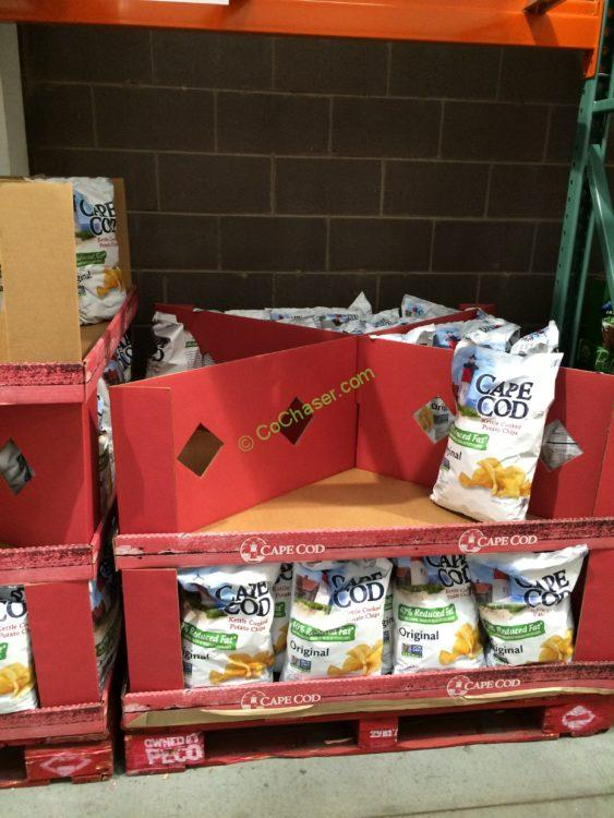Costco 669434 Cape Cod Reduced Fat Kettle Chips All