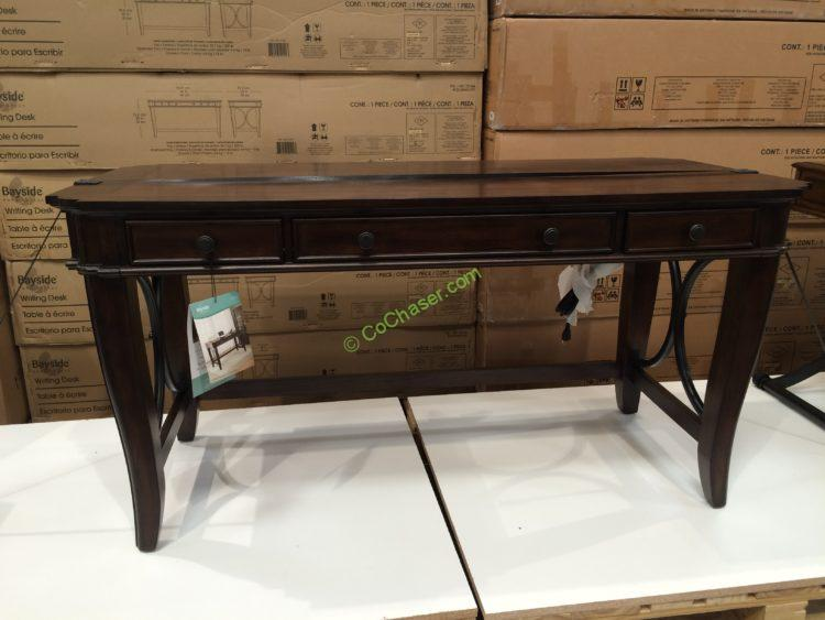 "Bayside Furnishings 60"" Writing Desk"