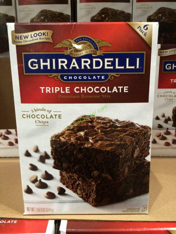 Ghirardelli Chocolate Brownie Mix 120 Ounce Box