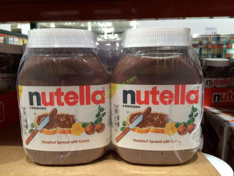 Nutella Hazelnut Spread 2/33.5 Ounce Jars