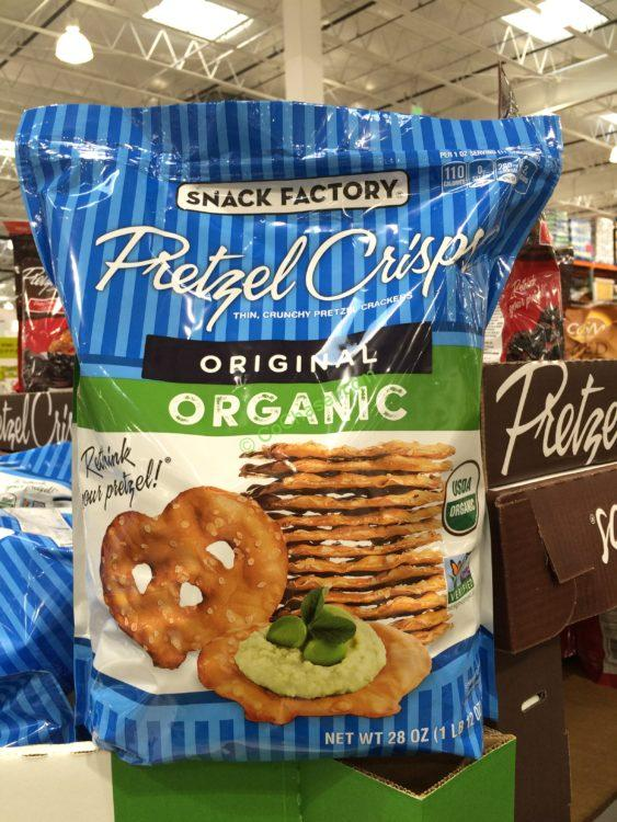Organic Snack Factory Pretzel Crisps 28 Ounce bag