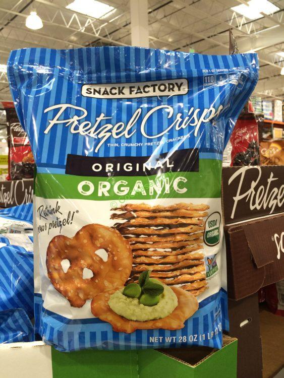 Organic Snack Factory Pretzel Crisps 28 Ounce Bag