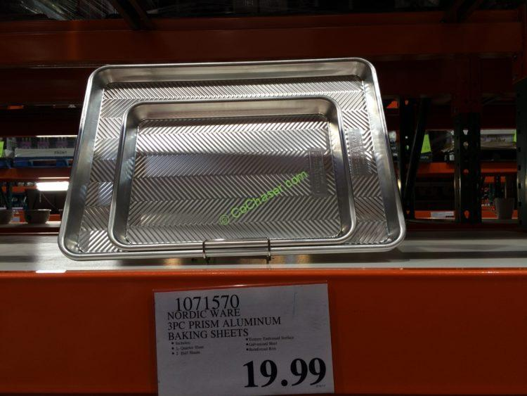 Costco-1071570-Nordic-Ware-3PC-Prism-Aluminum-Baking-Sheets