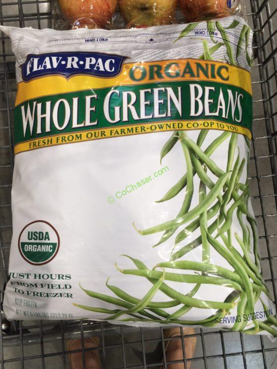 Flavrpac Organic Green Beans 5 Pound Bag Costcochaser