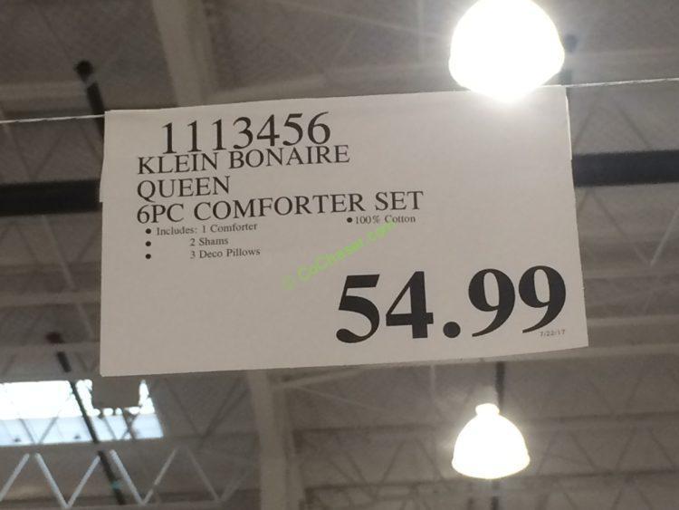 Klein Bonaire 6pc Comforter Set King And Queen Costcochaser