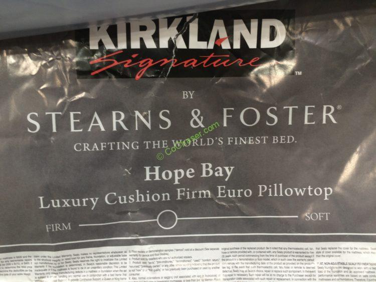 Kirkland Signature Hope Bay King Mattress Only