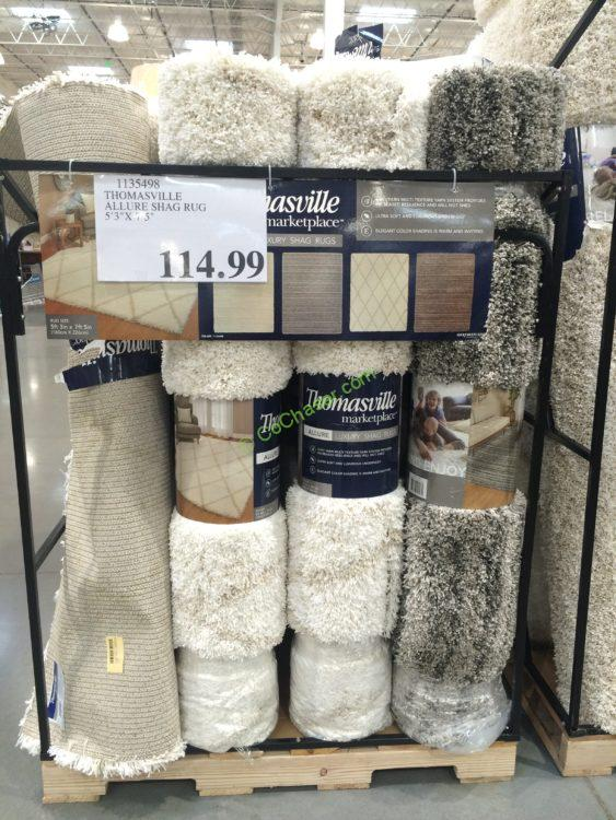 Costco 1135498 Thomasville Allure Shag Rug All