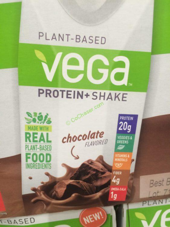 Vega Protein Shakes Chocolate 11oz 12 Pack